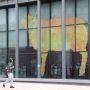 Université UPMC-Jussieu - Fresque Post-it symbolisant la connaissance - WelcomeWeek ©C.Stromboni oct.2012