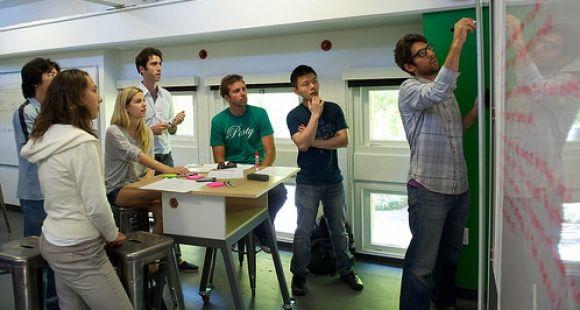 A l'université de Stanford, le design thinking a son école : la D-School © Courtesy of the Stanford d.school
