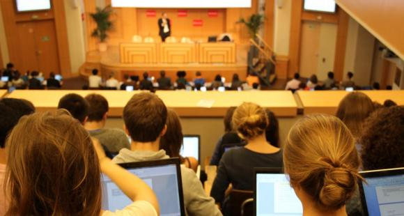 Sciences po Paris - Cours amphi Boutmy - Octobre 2012 - ©Camille Stromboni