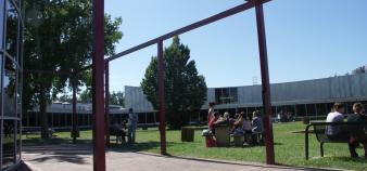 Le campus de Kedge à Bordeaux - La cafétéria //©Kedge