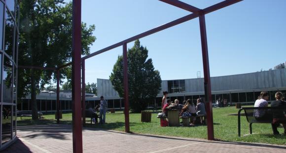 Le campus de Kedge à Bordeaux - La cafétéria