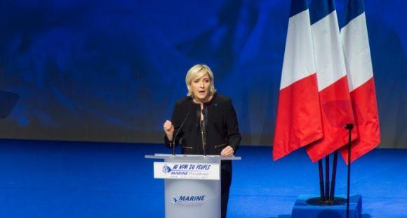 Marine Le Pen, candidate à l'élection présidentielle 2017