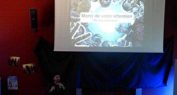 Un colloque sur les zombies s'est tenu à l'université de Besançon, fin mai
