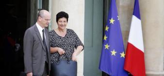 Jean-Michel Blanquer et Frédérique Vidal ont tracé les grandes lignes de la réforme des rectorats. //©©DENIS/REA