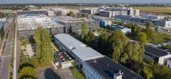 Le campus du Moulon, à Paris-Saclay, accueille notamment l'IUT, Centrale Supélec et l'ENS Paris-Saclay. //©alticlic
