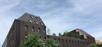 Les nouveaux bâtiments de Sciences po Strasbourg inaugurés en mars 2020. //©IEP Strasbourg
