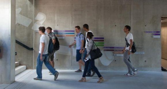 Les nouveaux bâtiments de SeaTech, l'école d'ingénieurs de l'université de Toulon