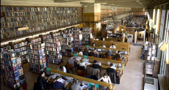 Université Paris Descartes - Paris 5 - Salle de lecture BIU Santé Médecine-Odontologie © Photothèque Paris Descartes Huguette & Prosper