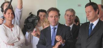 Luc Chatel à la rentrée 2011