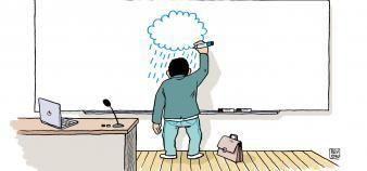 Pour la troisième année consécutive, les universitaires expriment leur démotivation. //©Julien Revenu