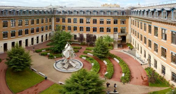 Le site de la Manufacture des tabacs de l'université Lyon 3