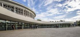 Pour gagner de l'espace, une extension a été ajoutée à la rotonde, qui abritait l'ancienne bibliothèque universitaire de Lille 1. //©Atmosphère photo