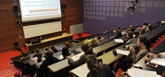 Une minorité de personnels et étudiants de l'université Toulouse 2 Jean-Jaurès se mobilise contre le projet idex. //©Lydie LECARPENTIER/ REA