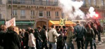 Manifestation du 27 mars à Paris ©VB