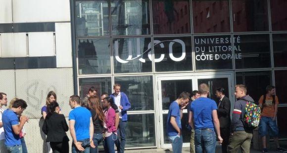 Université du Littoral Côte d'Opale. Centre universitaire de la Citadelle à Dunkerque // © Céline Manceau