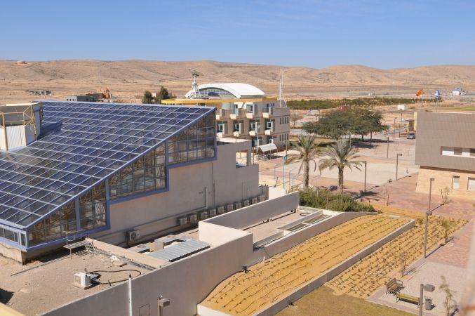 L'institut pour la recherche sur le désert Jacob Blaustein (université Ben Gourion du Néguev).