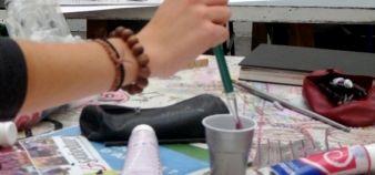 Etudiante d'école d'art // DR