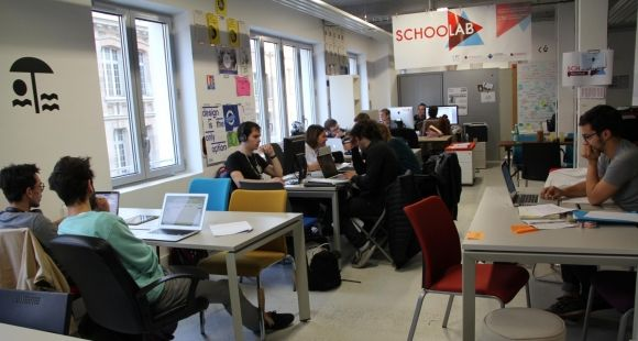 Le SchooLab accueille plus de 200 étudiants par an de différents profils et établissements.