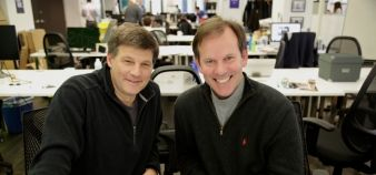 Jonathan Harber et Don Burton, les deux fondateurs du nouvel incubateur EdTech de New York, Edge. //©Edge