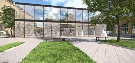 La Cour Gribeauval, ancien potager du couvent, accueillera en sous-sol le learning center de Sciences po. //©Sciences po Paris