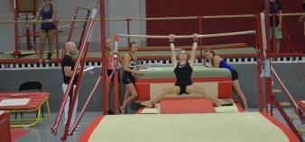 C'est seulement en troisième semaine que les étudiants de première année de Staps commencent les cours de sport. //©Guillaume Mollaret