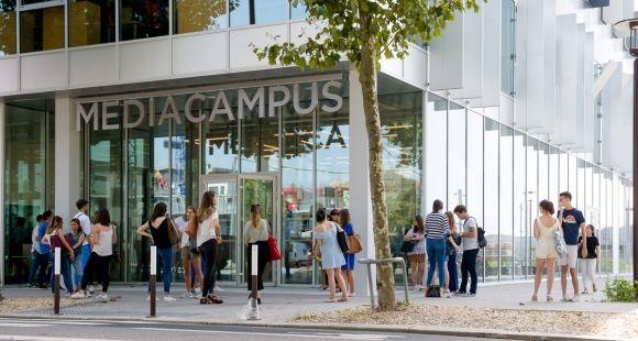 Le Mediacampus met étudiants et entreprises sur la même longueur d'onde