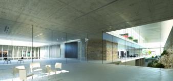 Les futurs locaux de l'ENSP à Arles. //©Images © RSI Studio pour Marc Barani