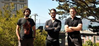 Les fondateurs de la Holberton School à San Francisco. De gauche à droite : Rudy Rigot, Sylvain Kalache, et Julien Barbier. //©Holborton School