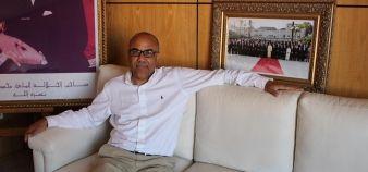 Abdellatif Miraoui préside l'université Cadi Ayyad de Marrakech et l'Agence universitaire de la francophonie (AUF). //©Delphine Dauvergne