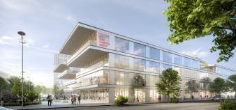 Le nouveau campus d'emlyon à Gerland sera opérationnel fin 2023- début 2024. //©emLyon©PCA-STREAM