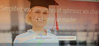 Etre ou ne pas être sur Mastersbooking - une plateforme qui promet d'aider les étudiants à intégrer un master - la question fait débat à l'université. //©Capture d'écran