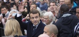 Emmanuel Macron a été élu président de la République, dimanche 7 mai 2017. //©Florian DAVID/REA