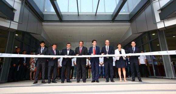 Inauguration du campus de l'Essec à Singapour, lundi 4 mai 2015