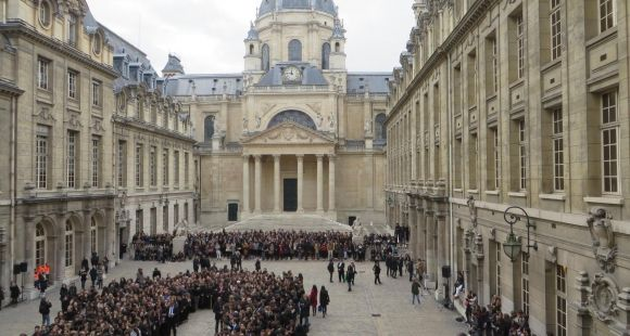 L'université debout face aux attentats