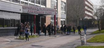 Université de Reims Champagne Ardenne - Campus Croix-Rouge – restau U - ©C.Stromboni-fev2013