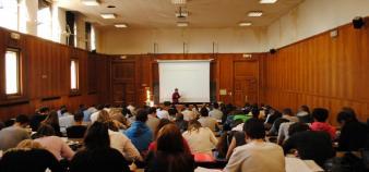 L'université d'Aix-Marseille compte une soixantaine de cursus dans le projet de liste de masters 2 sélectifs. // Campus Schuman (Aix-en-Provence) //©Camille Stromboni