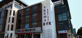 Ce partenariat signé avec Microsoft assure l'interconnexion des six campus de l'école de management. //©Skema BS