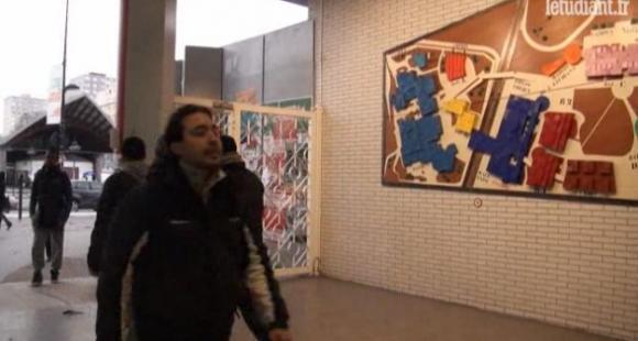 Université Paris 8 - capture vidéo