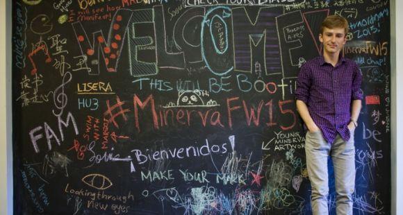 Minerva a ouvert à la rentrée 2015. Sa première promotion compte 80% d'étrangers. //©PETER DASILVA/The New York Times-REDUX-REA