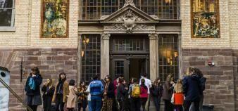La Haute école des arts du Rhin(HEAR) à Strasbourg n'a pas encore rejoint la plate-forme Parcoursup. //©© Pascal Bastien/Divergence pour l'Etudiant