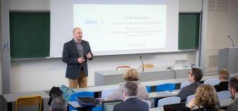Spécialiste de pédagogie universitaire, Denis Berthiaume est intervenu lors d'un séminaire organisé par l'UFR de sciences. //©université de Nantes