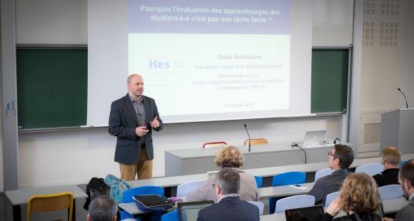Spécialiste de pédagogie universitaire, Denis Berthiaume est intervenu lors d'un séminaire organisé par l'UFR de sciences.