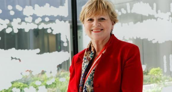 Monique Ronzeau, présidente de l'OVE.