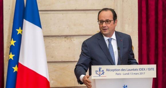 François Hollande, a défendu l'importance donnée à l'enseignement supérieur et à la recherche au sein des programmes d'investissement d'avenir.