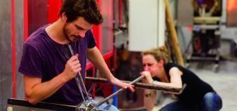 Emmanuel Tibloux plaide pour une stratégie nationale, visant à soutenir le développement des écoles d'art. //©Haute école des arts du Rhin