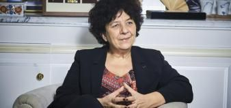 La ministre de l'Enseignement supérieur, Frédérique Vidal, revient pour Educpros sur les réformes en cours. //©Bruno LEVY/CHALLENGES-REA