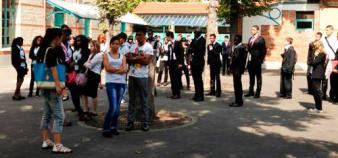 Le lycée Corbon - rentrée 2012 // ©E. Vaillant