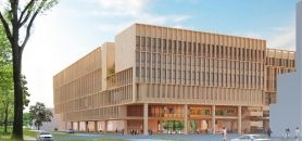 Maquette du futur bâtiment de Télécom ParisTech à Saclay //©Télécom ParisTech