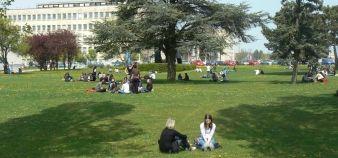 Campus de l'université de Bourgogne © Service communication uB