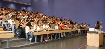 Université de Nanterre, cours en amphi © Communication université Paris-Ouest Nanterre-la Défense //©université Nanterre